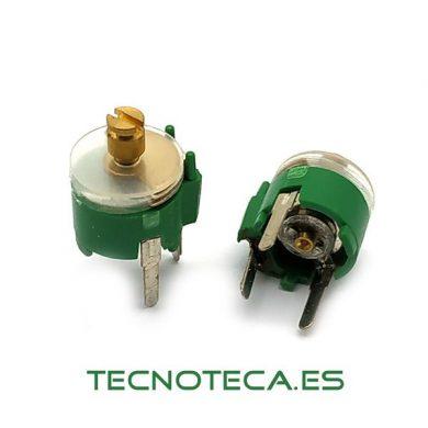 Condensadores ajustables de 1,8pF a 22pf