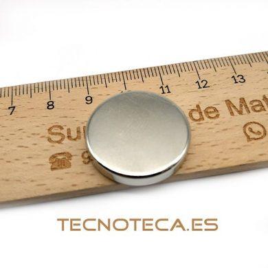 IMAN DE NEODIMIO DE 25 X 5 mm