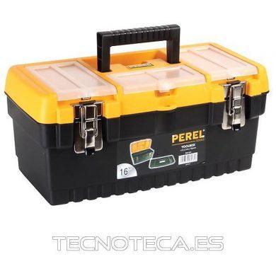 Caja de herramientas con cerradura metálica