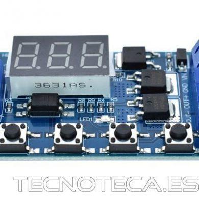Modulo temporizador universal salida a CMOS