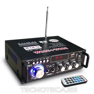 Mini amplificador 12 y 230V