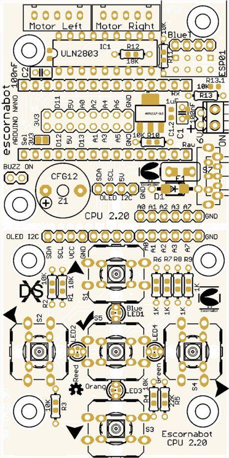 Escornabot CPU