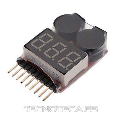 comprobador de baterias en serie