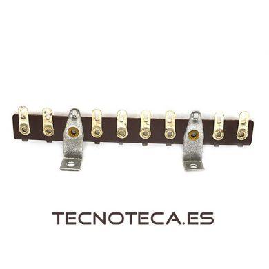 Regleta para amplificador de valvulas de 8 pines