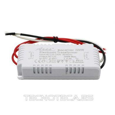 TRANSFORMADOR ELECTRONICO DE 200 WATIOS