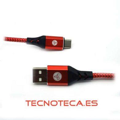 Conexión tipo USB AM macho a tipo C macho