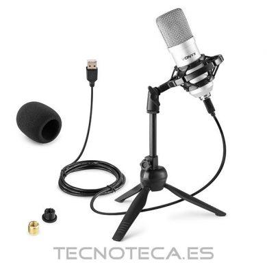 MICROFONO POR USB SET BLACK STUDIO
