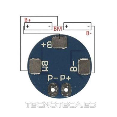 Cargador de baterias 2S 5A para 18650