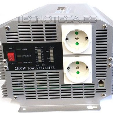 Inversor 24V 2500w
