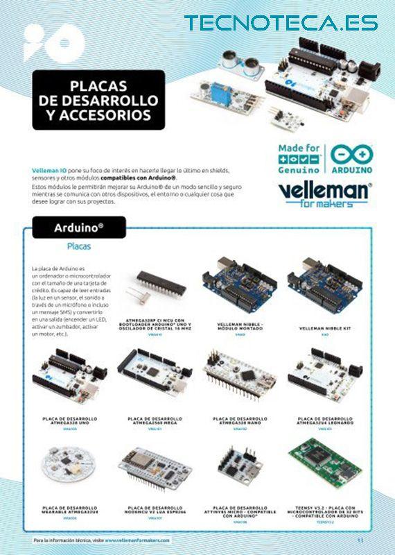 Catalogo de Arduino