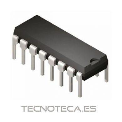 Capsula de circuito integrado16 dil o dip