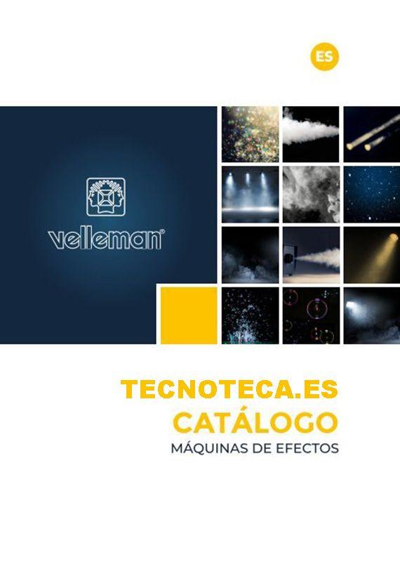Catalogo de maquinas de efectos