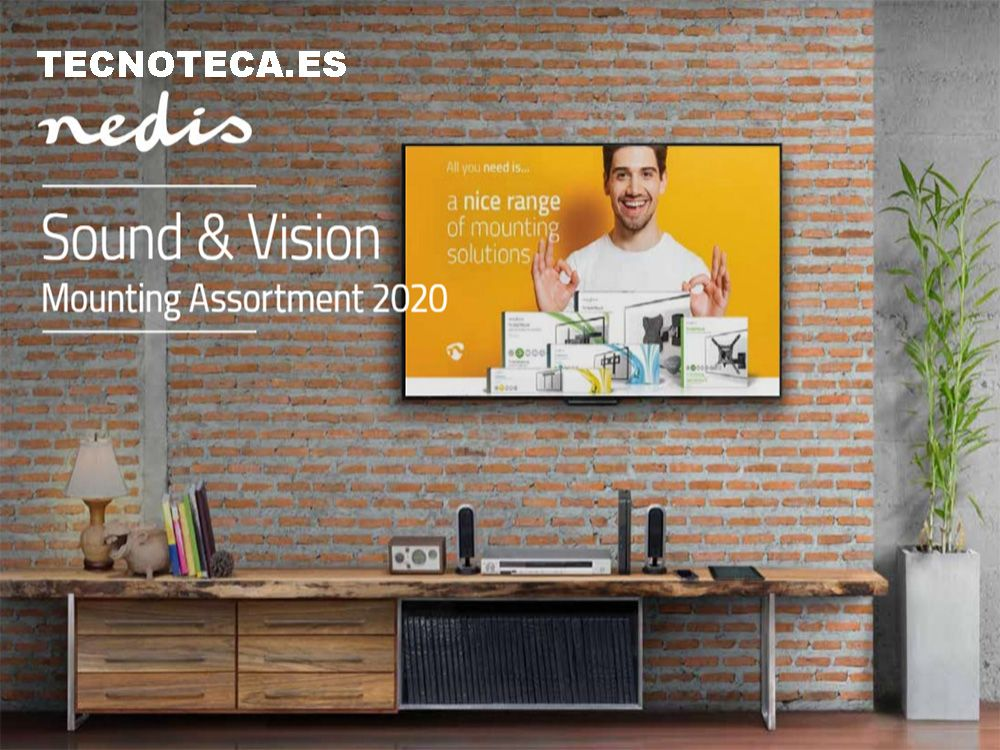 CATALOGO DE SOPORTES TV Y ALTAVOCES