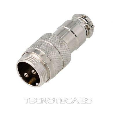 Conector microfónico 2 pines