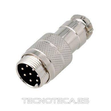 Conector microfónico 8 pines