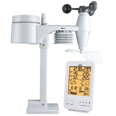 Estación meteorológica inalámbrica digital profesional