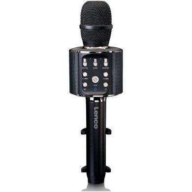 Micrófono bluetooth con altavoz y luces para karaoke